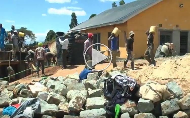 Continuing Construction of the Makena Marangu Memorial Maternity Center